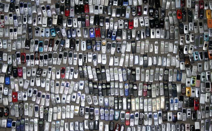 保有携帯電話リスト イメージ